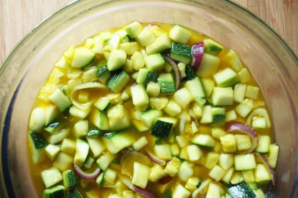 courgette aigre douce