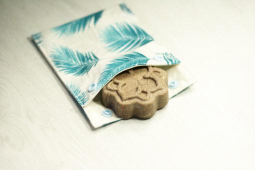 pochette savon imperméable bio GOTS