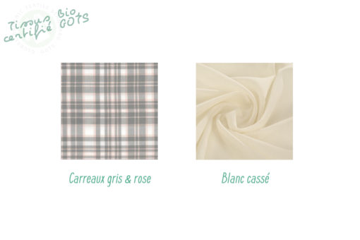 ensemble tissus bio coton mouchoirs