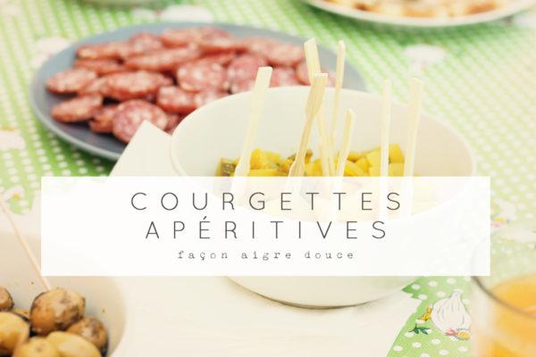 courgette aigre douce cuisine