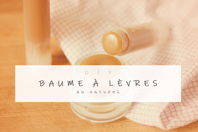 Baume à Lèvres Diy Une Julie Verte Boutique Blog Zéro