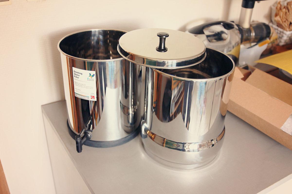 cuves filtre eau berkefeld doulton zero dechet une julie verte