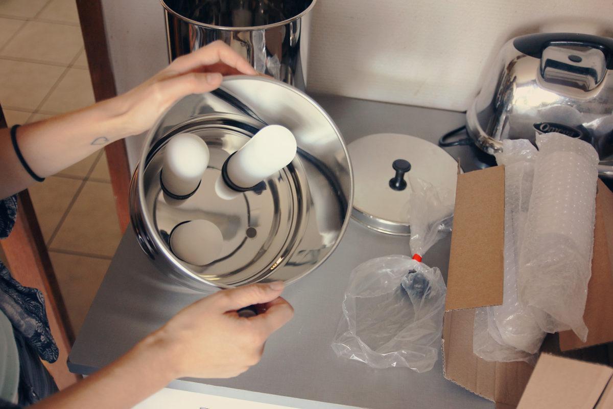 système filtre eau berkefeld doulton zero dechet une julie verte