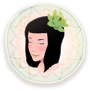 dessin une julie verte