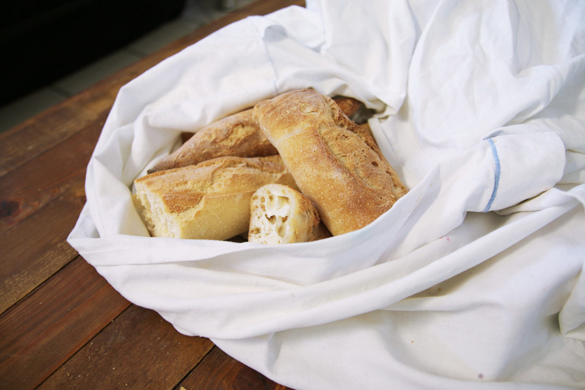 congélation pain sans plastique