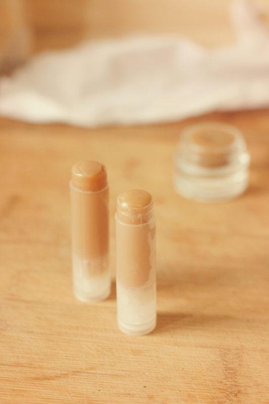 baume lèvres maison